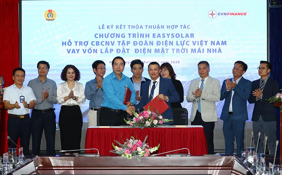 EVNFinance cung cấp gói vay lắp đặt điện mặt trời mái nhà cho CBNV ngành Điện
